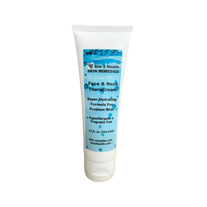 Aim 2 Health Skin Remedies Face & Neck Theracream With 10% Urea