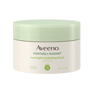 Aveeno-Positively Radiant Overnight Hydrating Facial Moisturizer