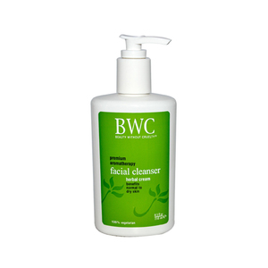 Beauty Without Cruelty Premium Aromatherapy Facial Cleanser, Herbal Cream