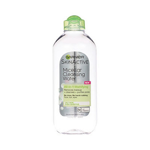 Garnier Nutritioniste Skinactive Micellar Cleansing Water All-In-1 Mattifying