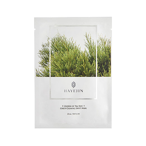 HAYEJIN Cuddle Of Tea Tree Green Calming Sheet Mask
