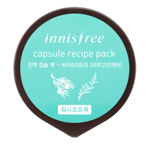 INNISFREE Capsule Recipe Pack - Bija & Tea Tree