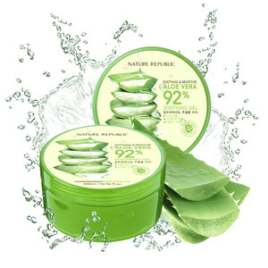 NATURE REPUBLIC-Aloe Vera 92% Soothing Gel