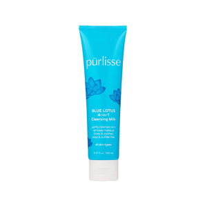 Purlisse Blue Lotus 4-In-1 Cleansing Milk