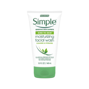 Simple Kind To Skin Moisturizing Facial Wash