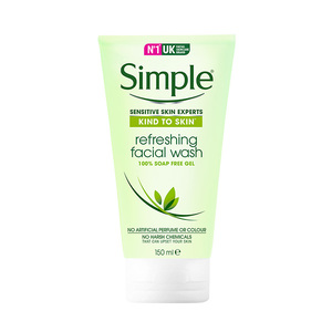 Simple-Kind To Skin Refreshing Facial Gel Wash