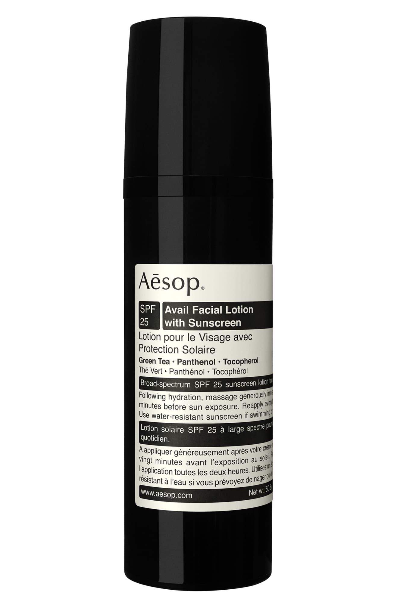 AESOP Avail Facial Lotion with Sunscreen SPF 25