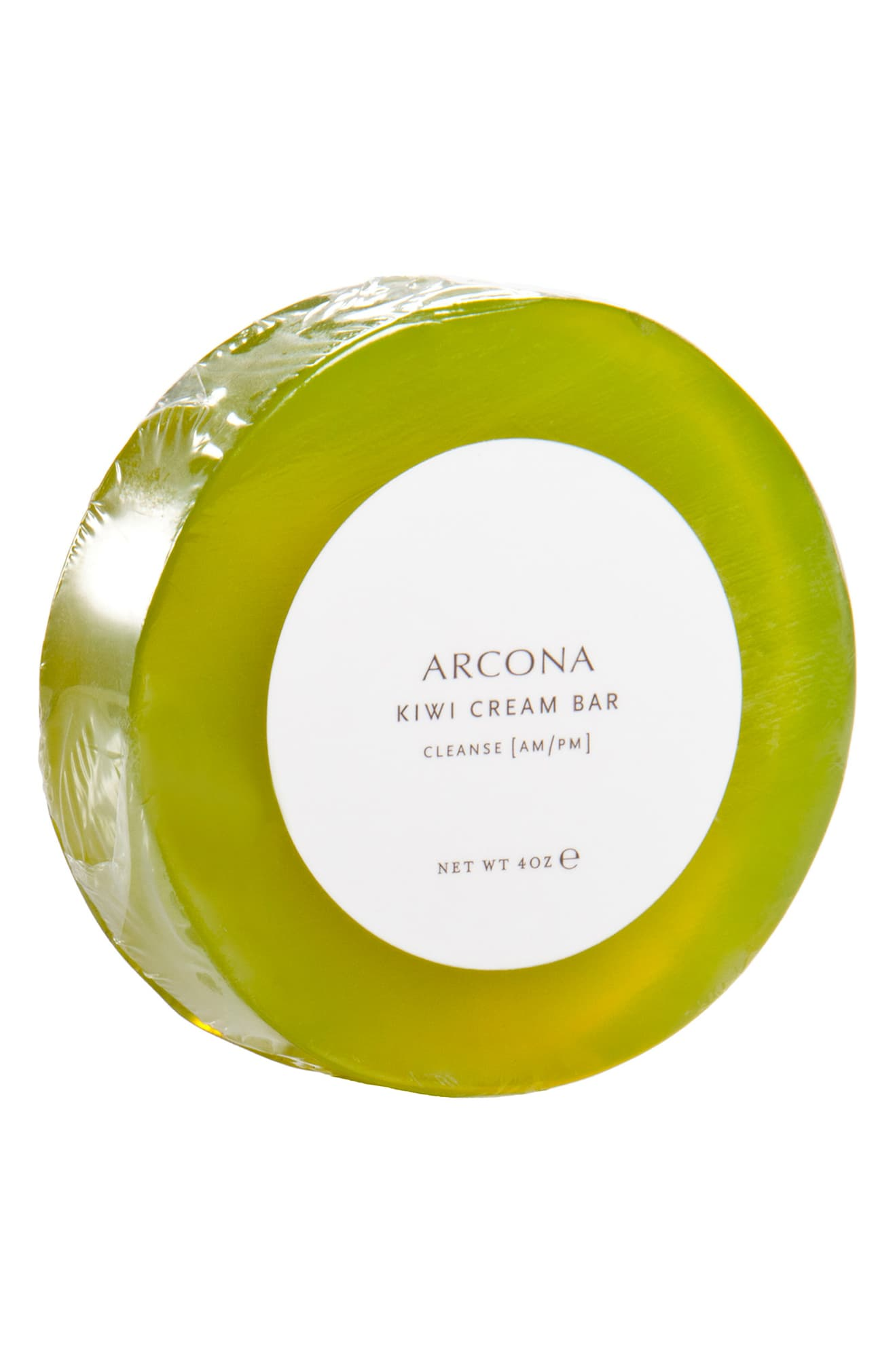 ARCONA Kiwi Cream Bar Facial Cleanser