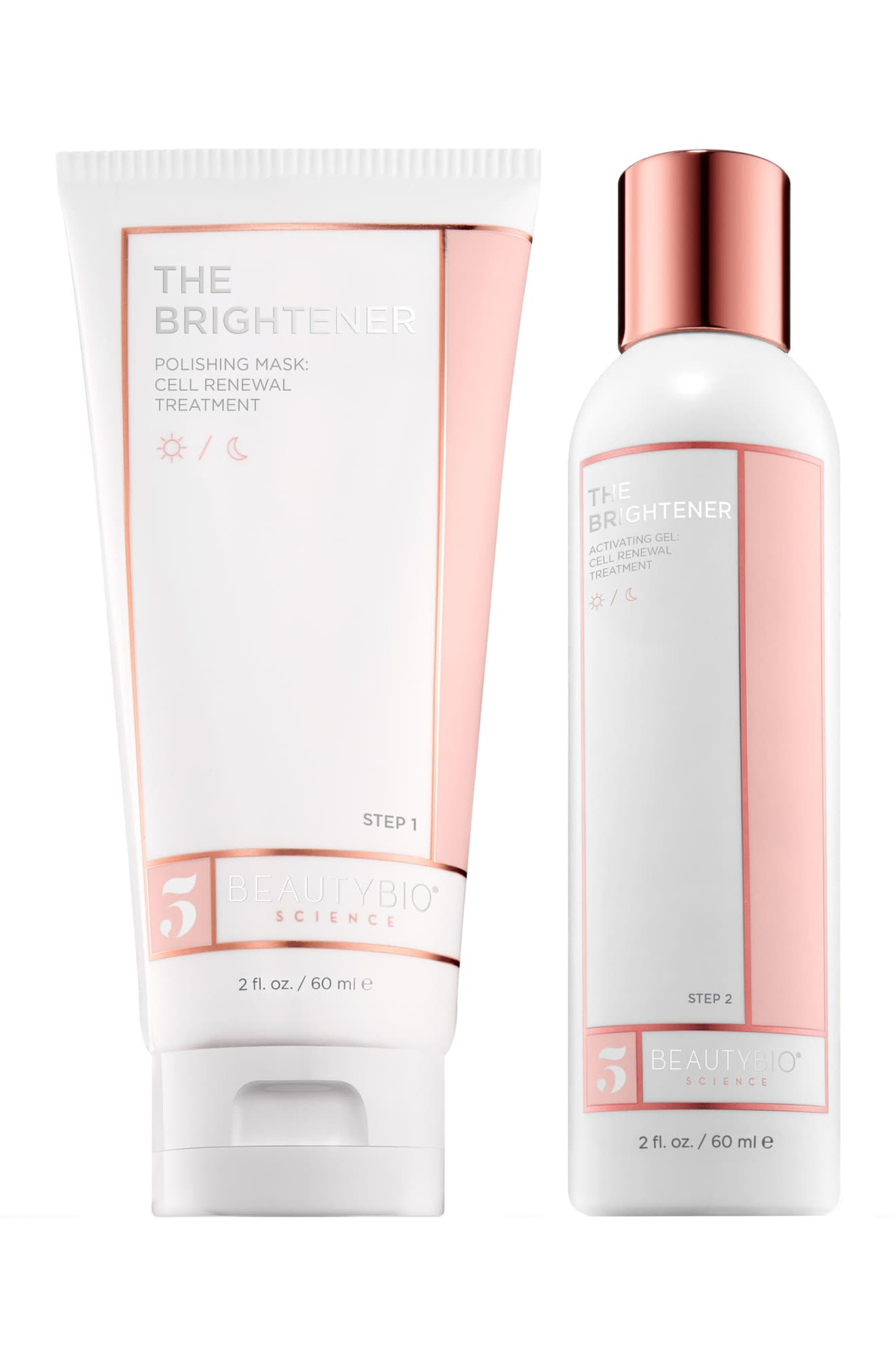 BEAUTYBIO The Brightener Two-Part Cell Renewal Treatment