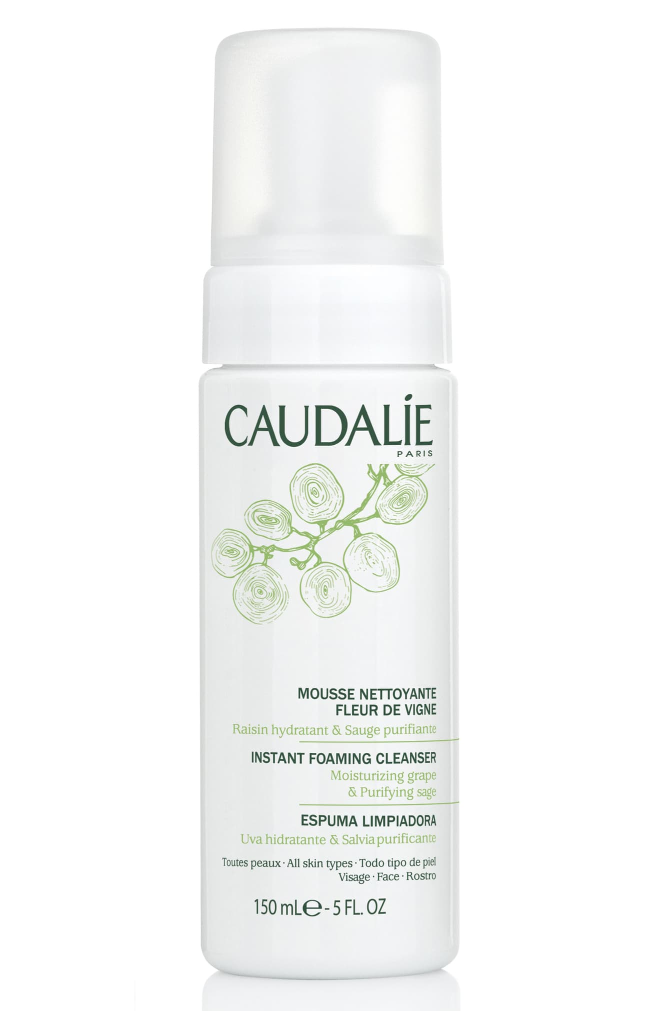 CAUDALÍE Instant Foaming Cleanser