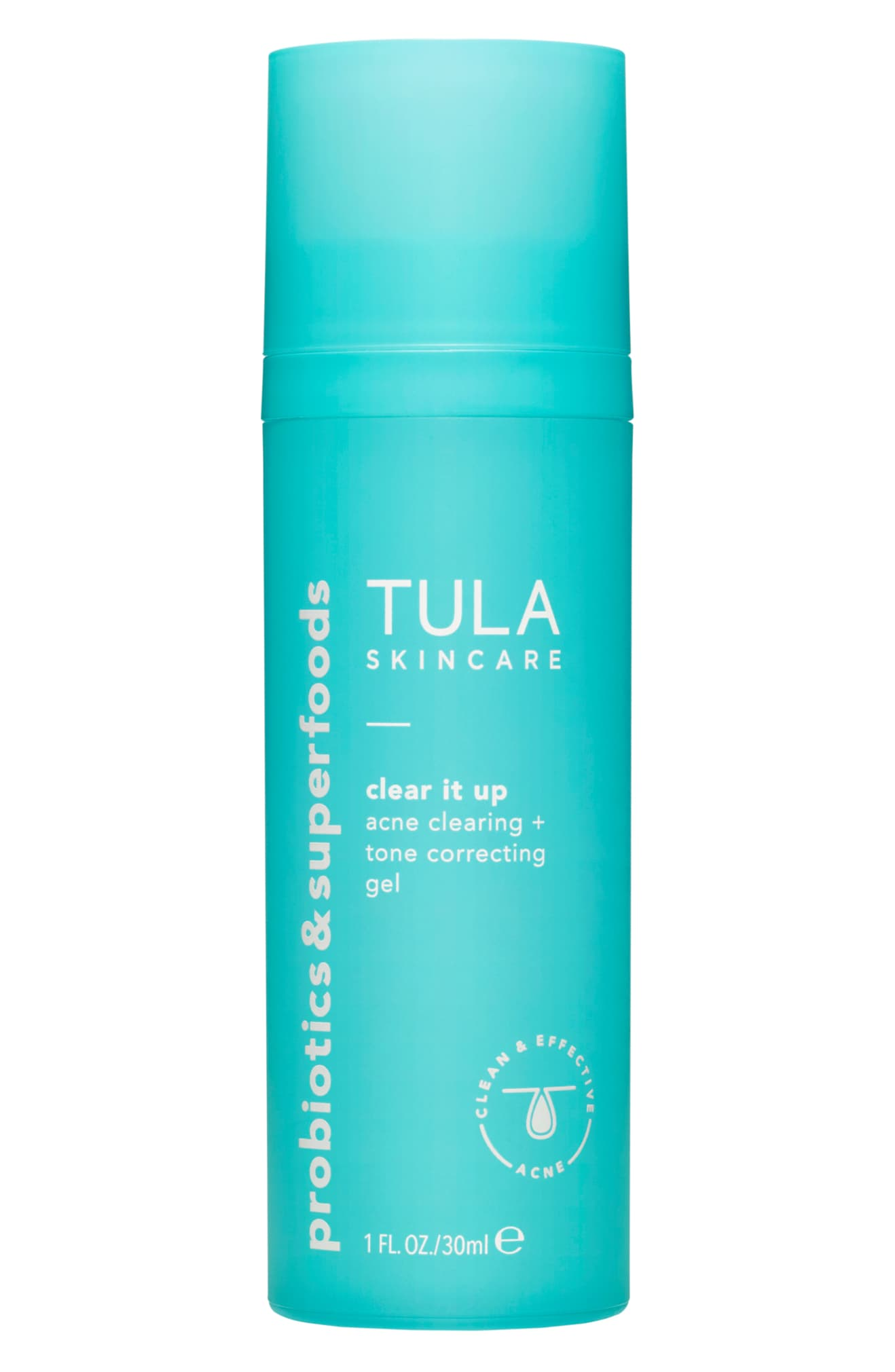 TULA PROBIOTIC SKINCARE Acne Clear It Up Acne Clearing + Correcting Gel