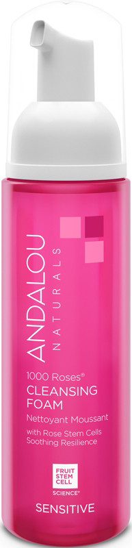 Andalou Naturals Online Only 1000 Roses Cleansing Foam
