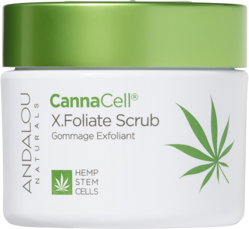 Andalou Naturals Online Only Cannacell X.Foliate Scrub
