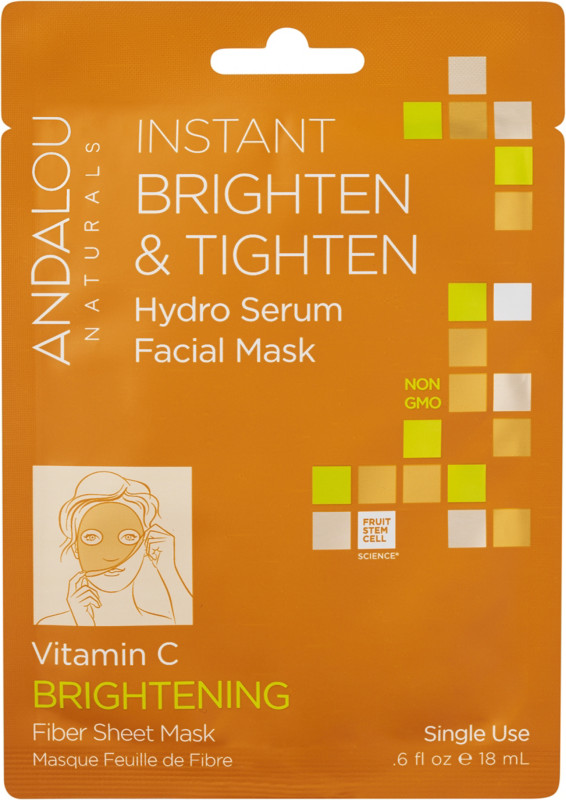 Andalou Naturals Online Only Instant Brighten & Tighten Hydro Serum Facial Mask