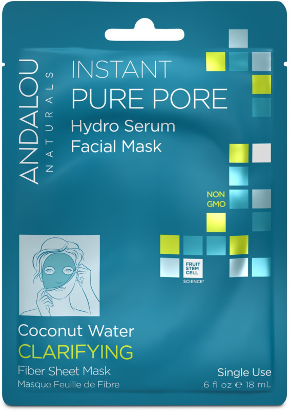 Andalou Naturals Online Only Instant Pure Pore Facial Sheet Mask
