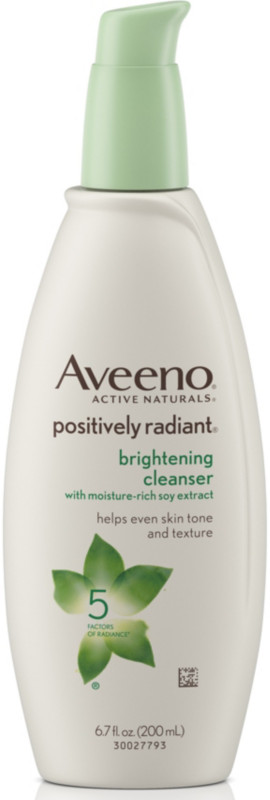 Aveeno Aveeno Positively Radiant Brightening Facial Cleanser