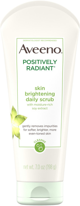 Aveeno Positively Radiant Skin Brightening Daily Scrub