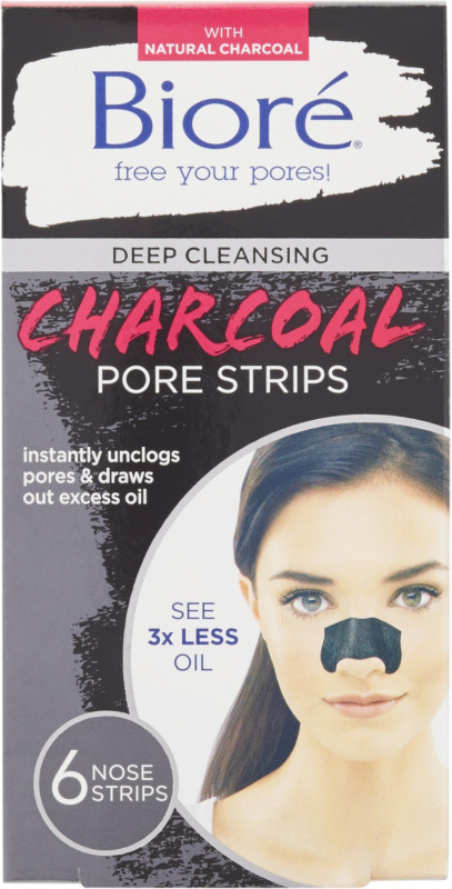 Bioré-Deep Cleansing Charcoal Pore Strips