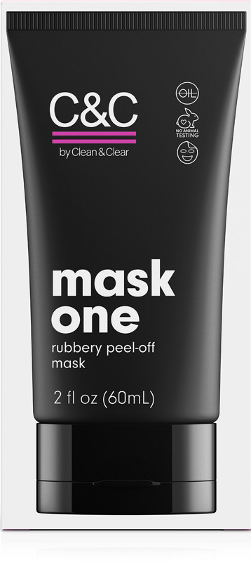 C&C by Clean & Clear Mask One Rubbery Peel Off Pink Face Mask
