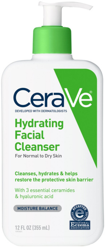 CeraVe-Hydrating Facial Cleanser For Normal To Dry Skin