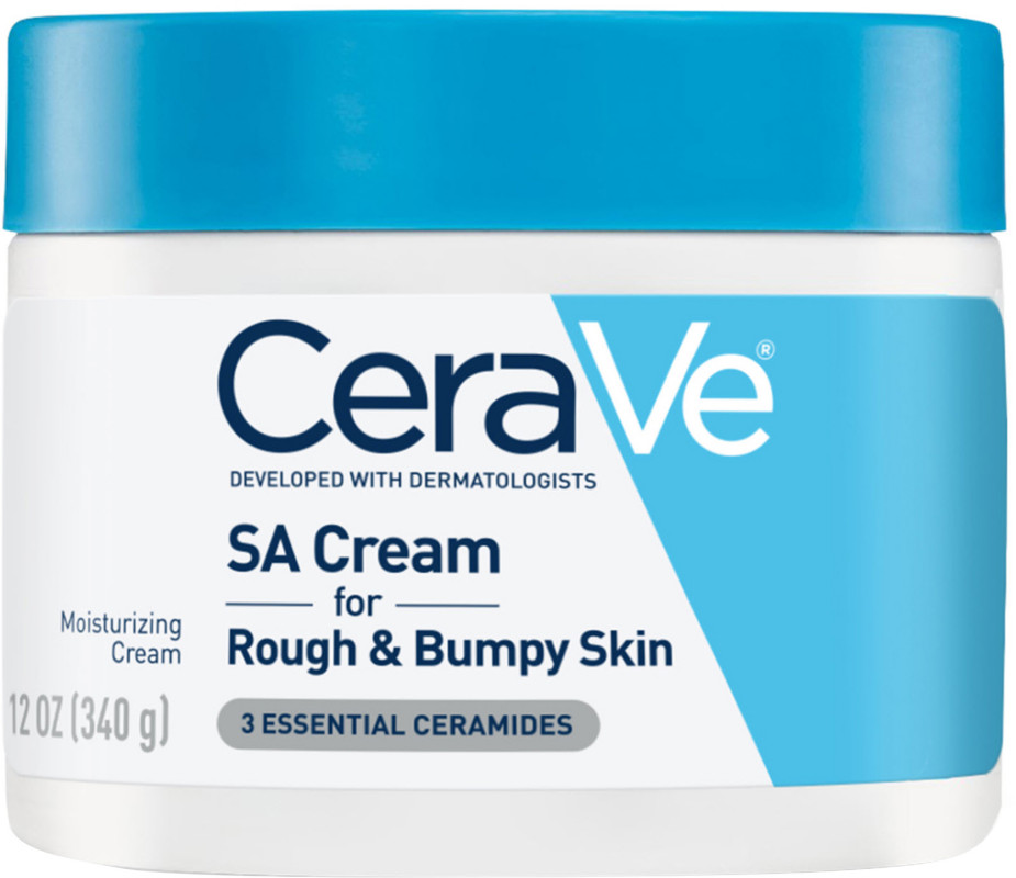 CeraVe-Sa Moisturizing Cream For Rough & Bumpy Skin