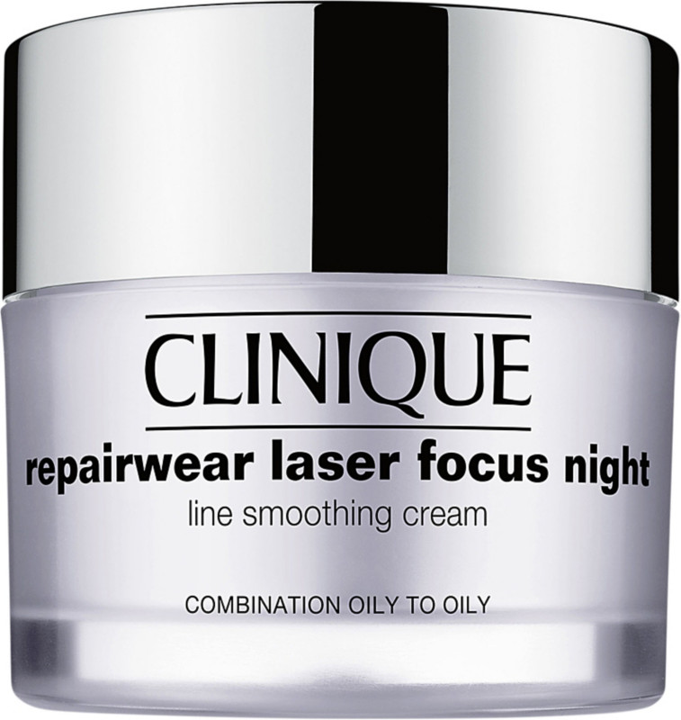 Clinique Repairwear Laser Focus Night Line Smoothing Cream Combination Oily To Oily