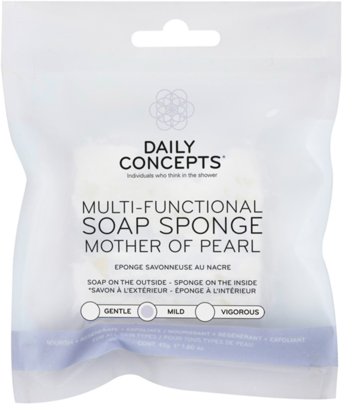 Daily Concepts Multi-Functional Mother Of Pearl Soap Sponge
