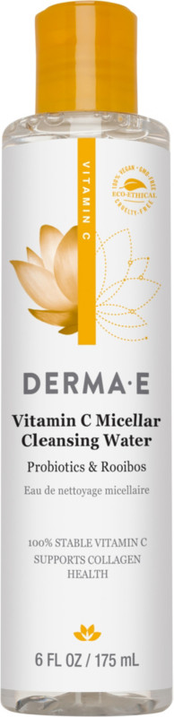Derma E Online Only Vitamin C Micellar Cleansing Water