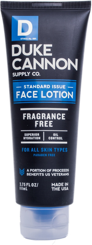 Duke Cannon Supply Co Online Only Standard Issue Face Lotion