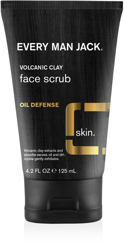 Every Man Jack Online Only Volcanic Clay Face Scrub Oil Defense