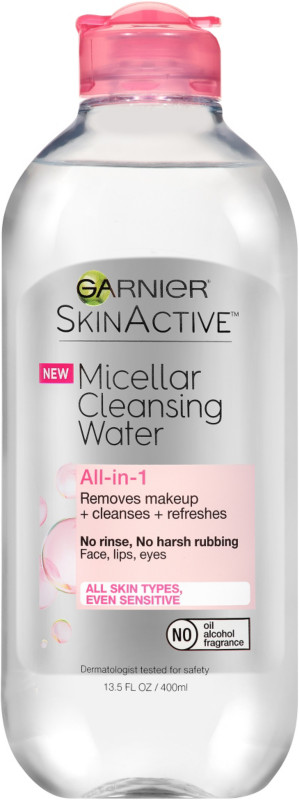Garnier-Skinactive Micellar Cleansing Water All-In-1 Cleanser & Makeup Remover