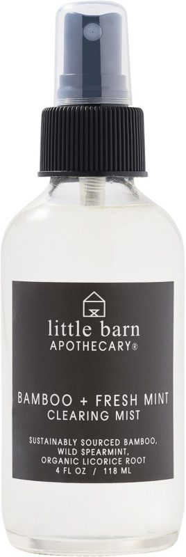 Little Barn Apothecary Bamboo + Fresh Mint Clearing Mist
