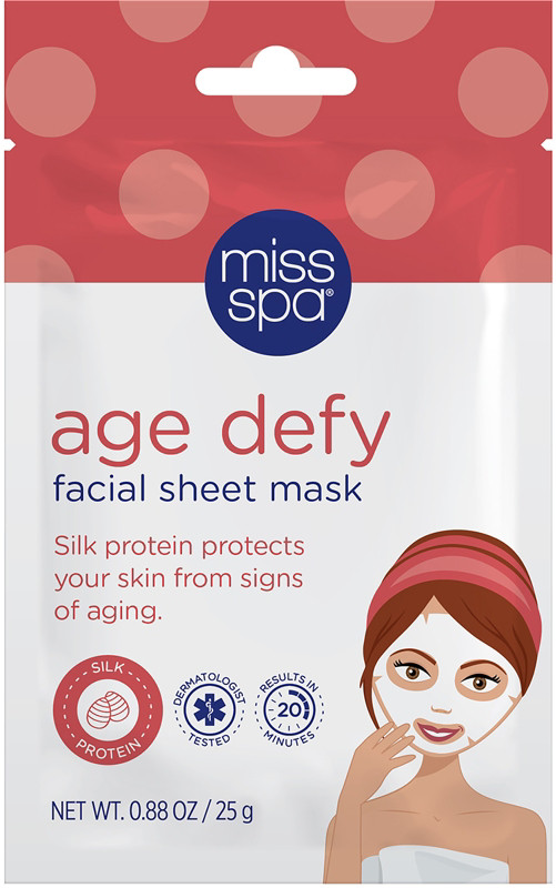 Miss Spa Online Only Age Defy Facial Sheet Mask