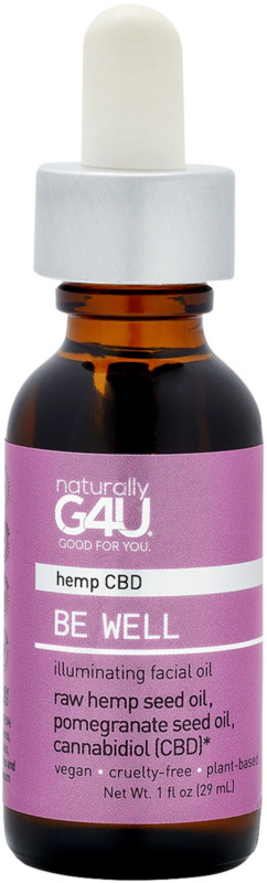 Naturally G4U Be Well Cbd Illuminating Facial Oil