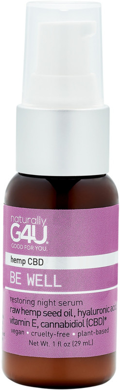 Naturally G4U Be Well Cbd Restoring Night Serum