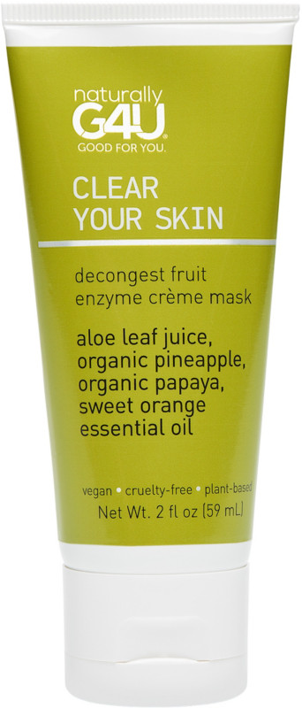 Naturally G4U Clear Your Skin - Decongest Fruit Enzyme Creme Mask