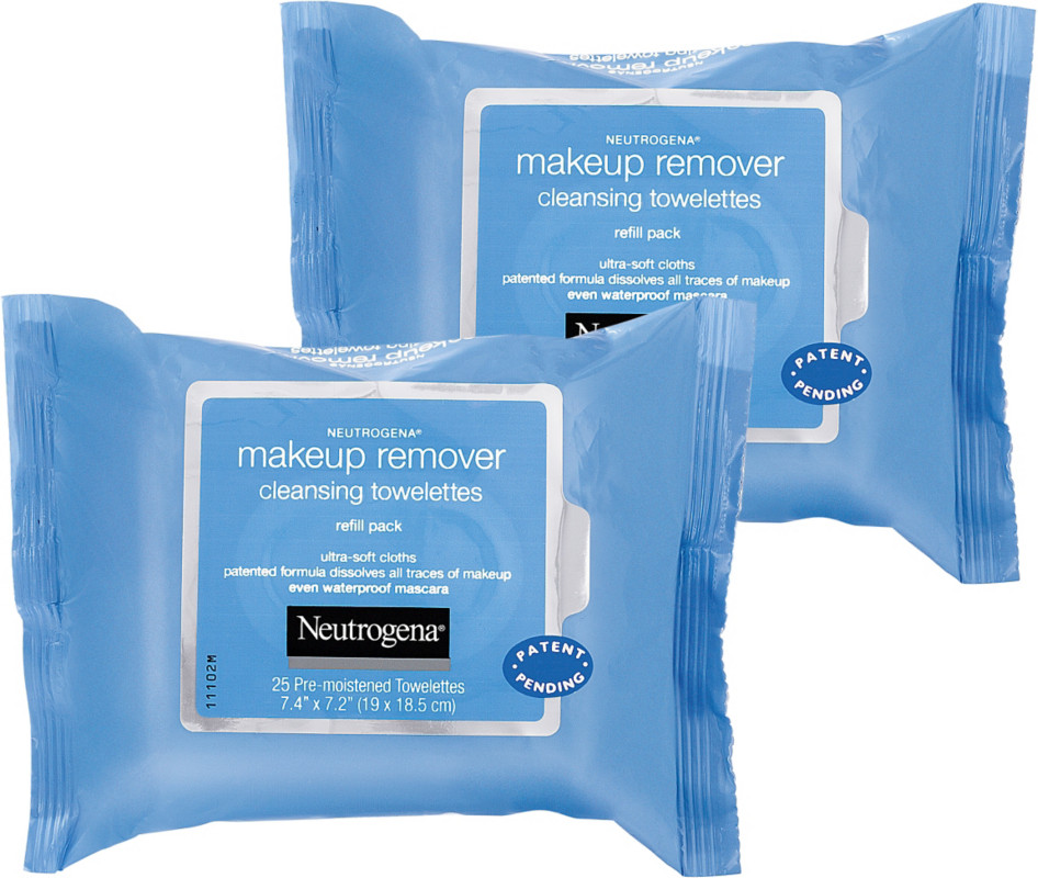 Neutrogena-Makeup Remover Cleansing Towelettes Twin-Pack