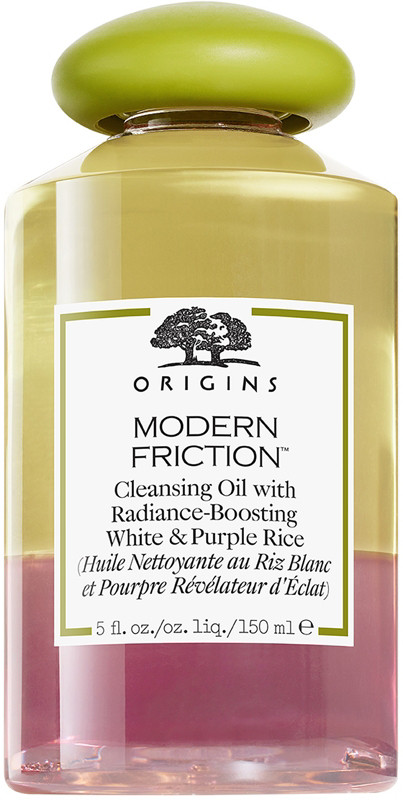 Origins Online Only Modern Friction Cleansing Oil With Radiance-Boosting White & Purple Rice