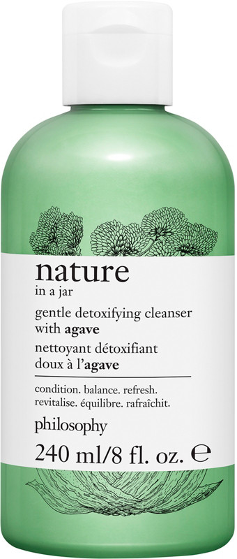 Philosophy Nature In A Jar Gentle Detoxifying Cleanser With Agave