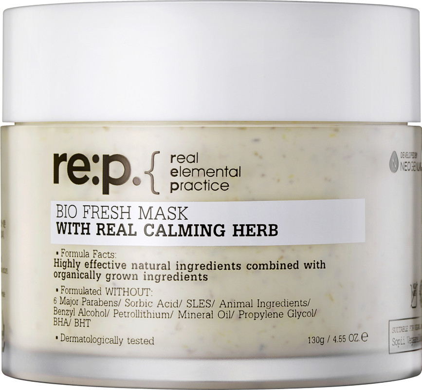 re:p Bio Fresh Mask With Real Calming Herbs