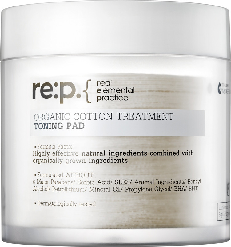 re:p Online Only Organic Cotton Treatment Toning Pad