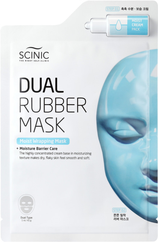 Scinic Dual Rubber Moist Wrapping Mask