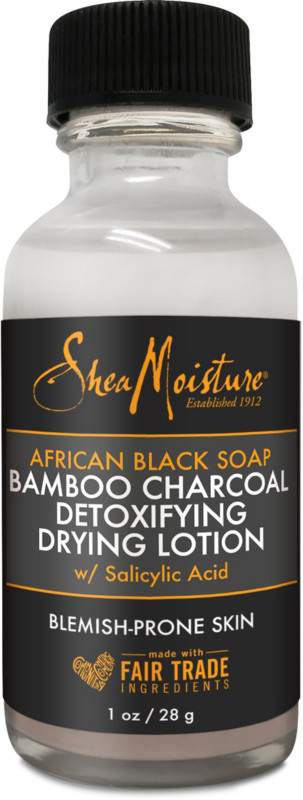 SheaMoisture African Black Soap & Bamboo Charcoal Drying Lotion