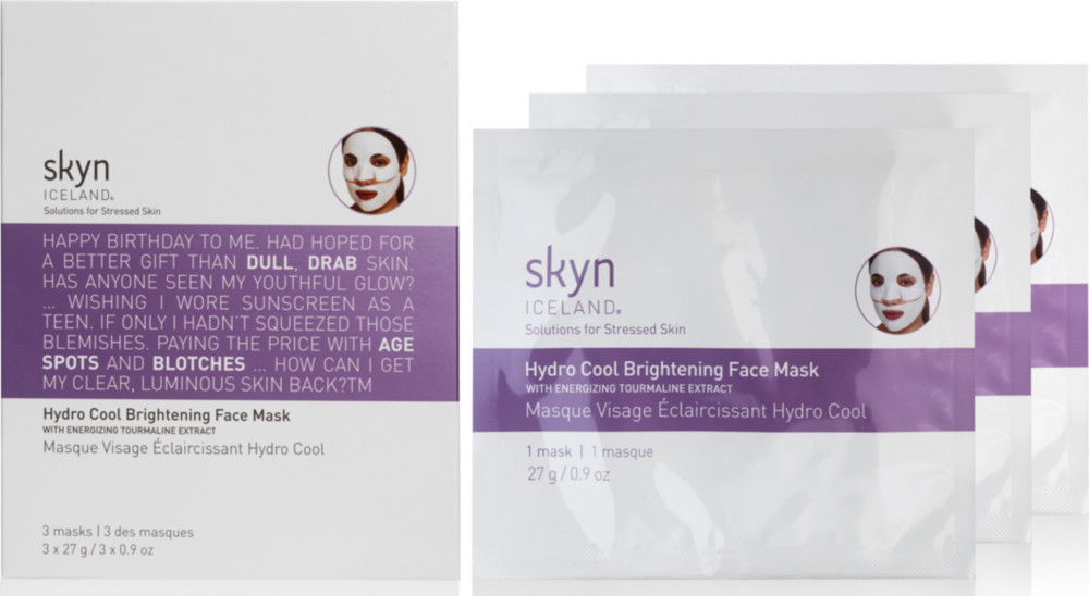 Skyn Iceland Hydro Cool Brightening Face Mask