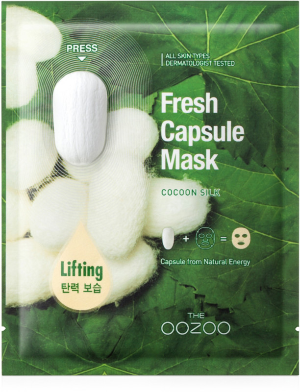 THE OOZOO Online Only Fresh Capsule Mask Cocoon Silk