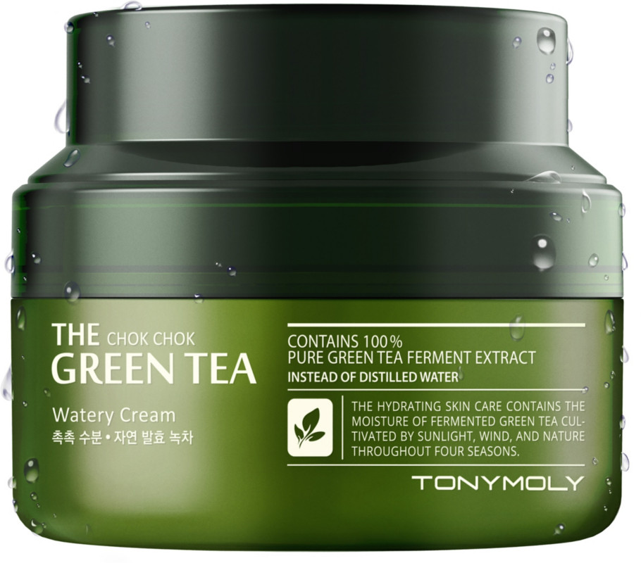 TONYMOLY-The Chok Chok Green Tea Watery Cream