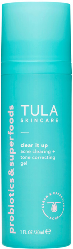 Tula Clear It Up Acne Clearing And Tone Correcting Gel