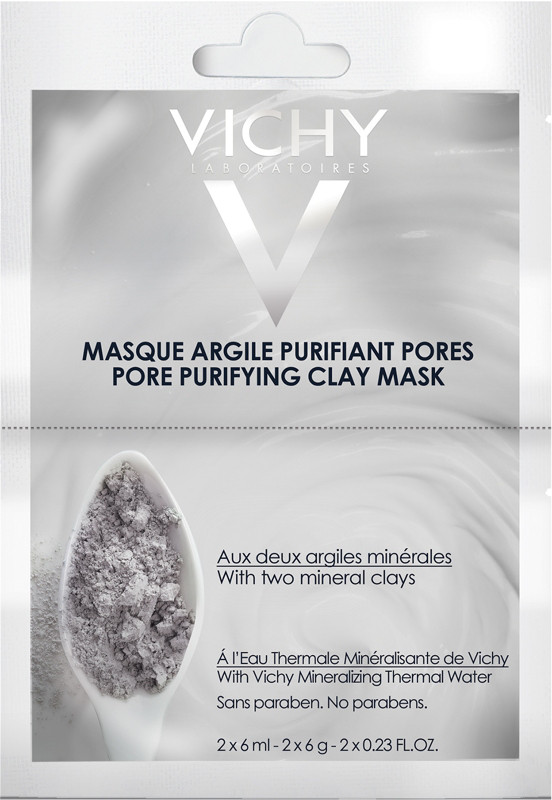 Vichy Pore Purifying Clay Face Mask Packette