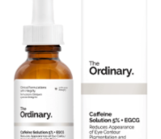 The Ordinary Caffeine Solution: Before and After