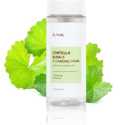 IUNIK (Korean)-Centella Bubble Cleansing Foam